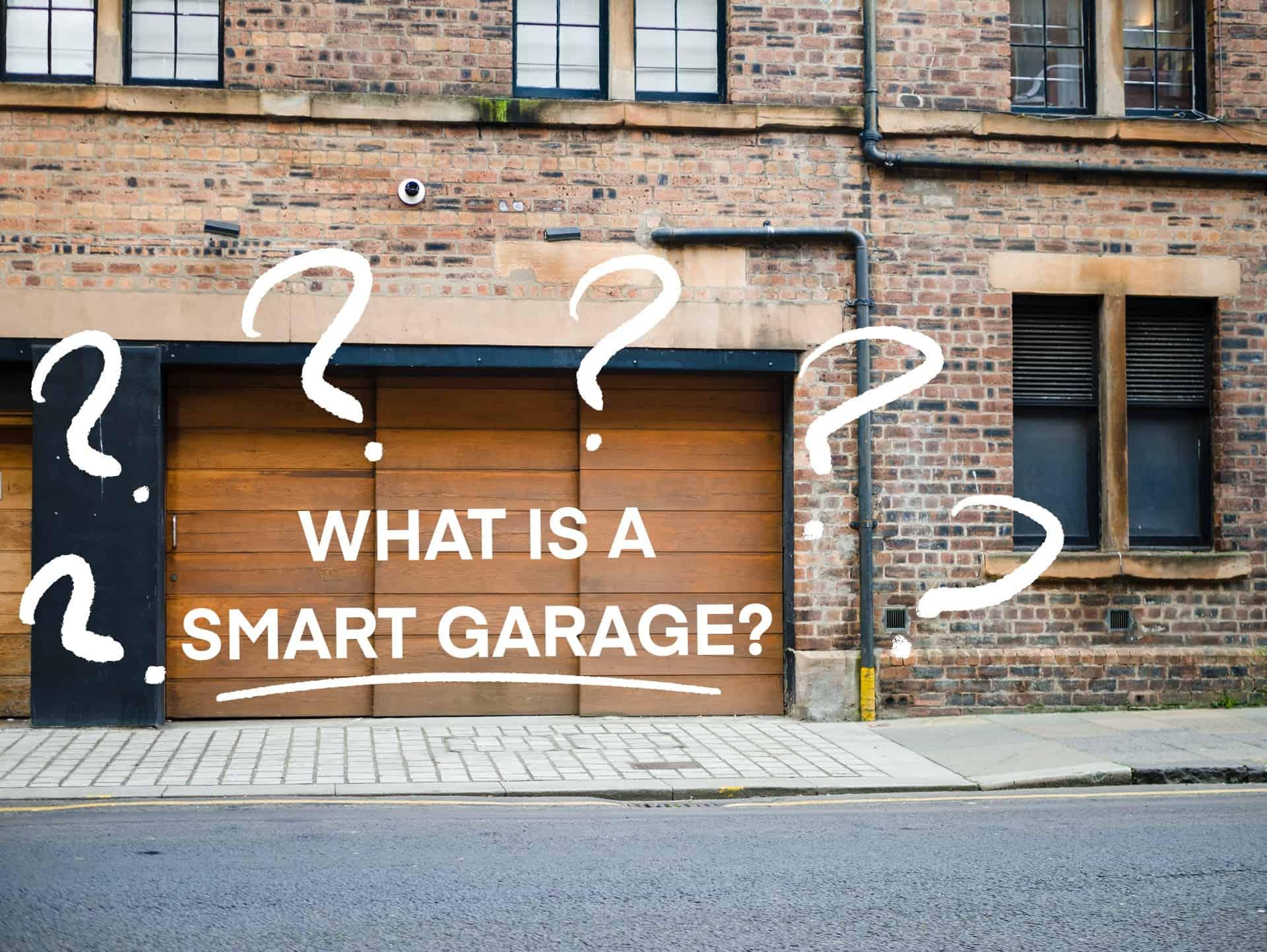 What do smart garage door openers do
