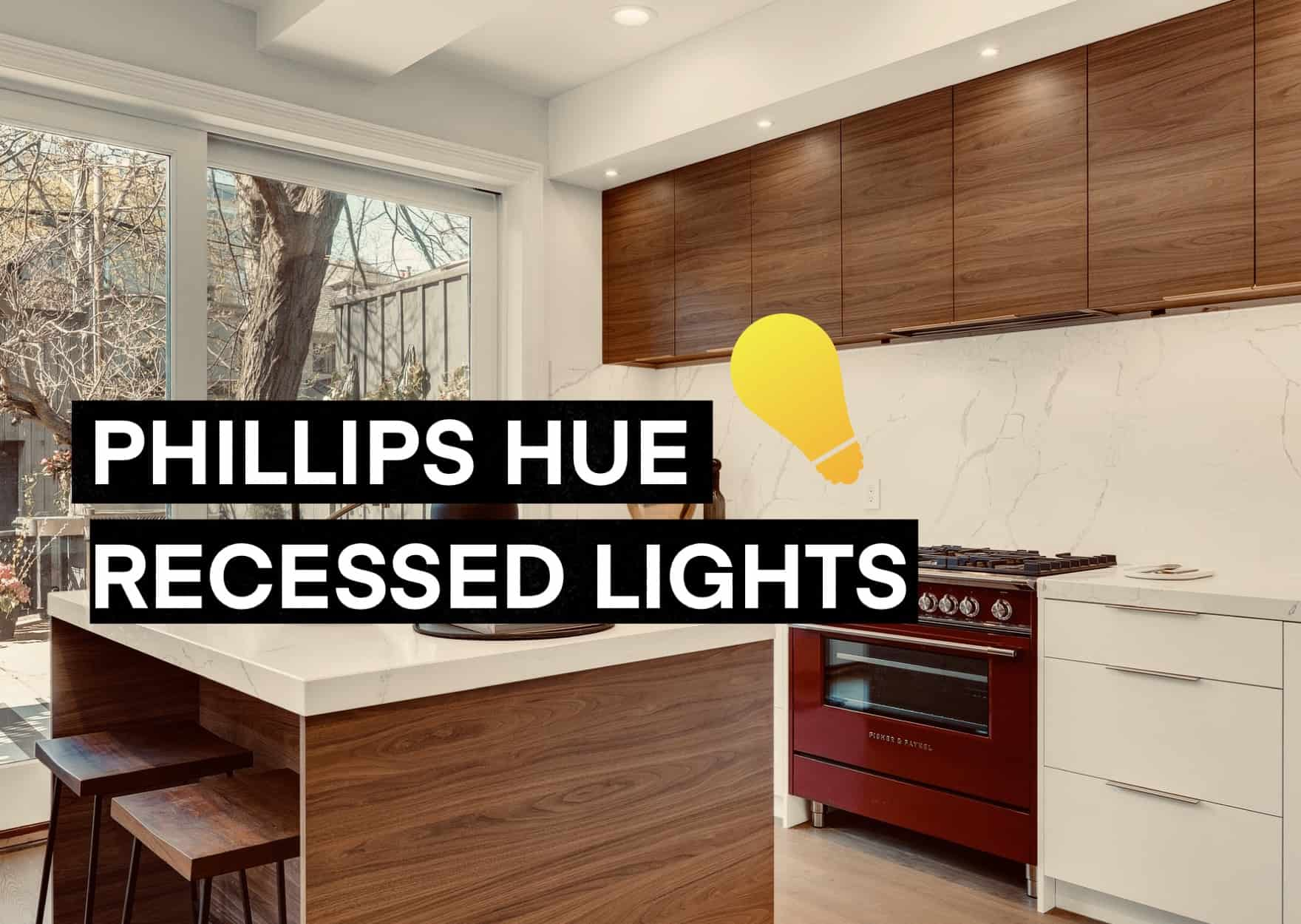 Can Phillips Lights be used in Recessed lighting