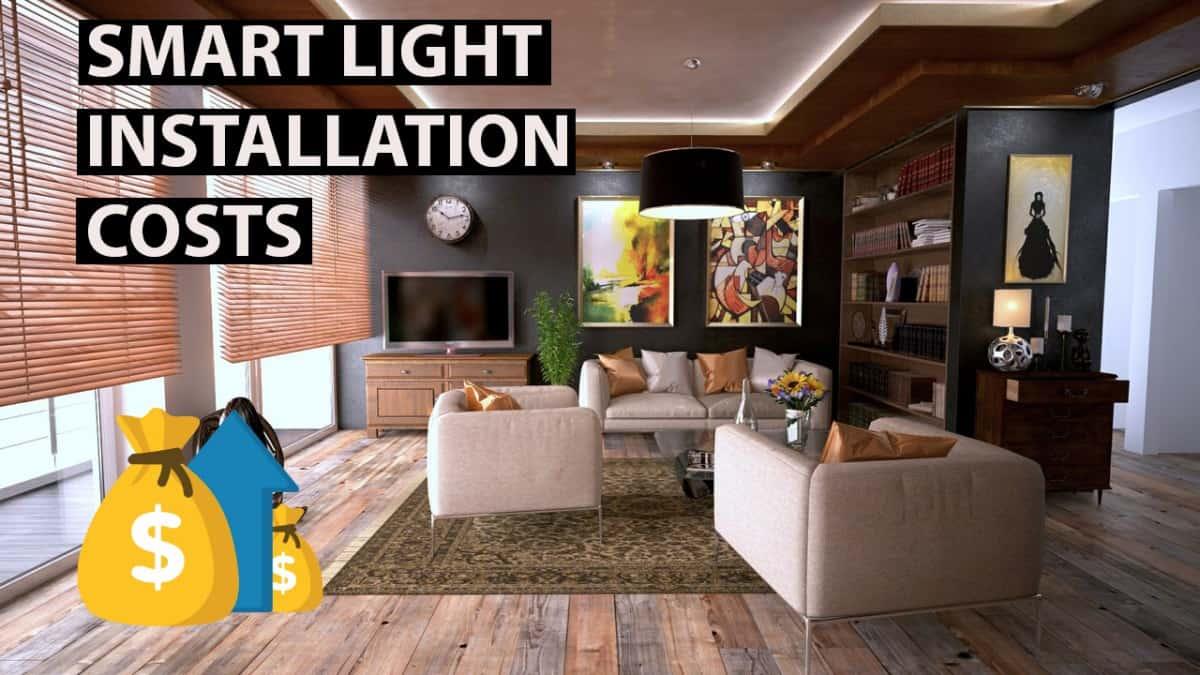 smart light installation cost