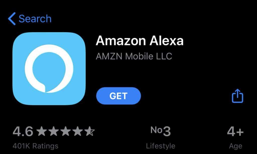 amazon alexa in app store
