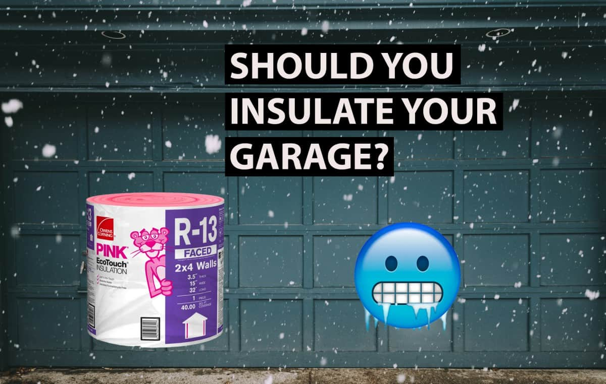 should you insulate your garage