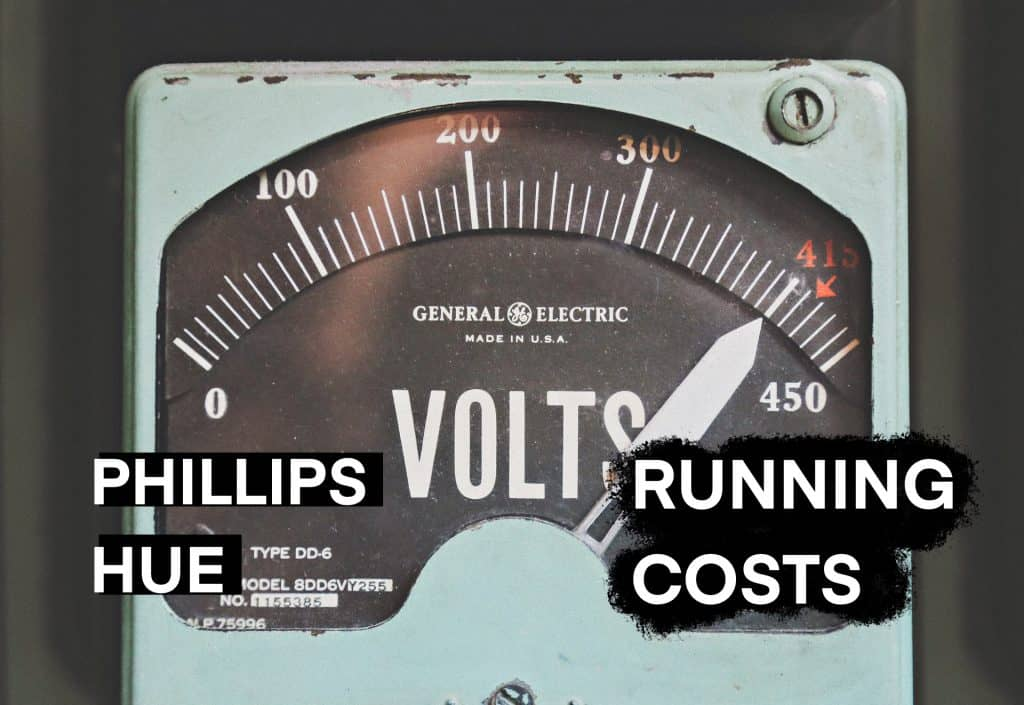 Phillips hue running costs