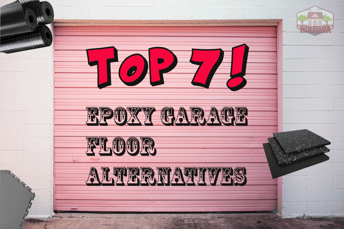 7 ALTERNATIVES TO EPOXY GARAGE FLOORING