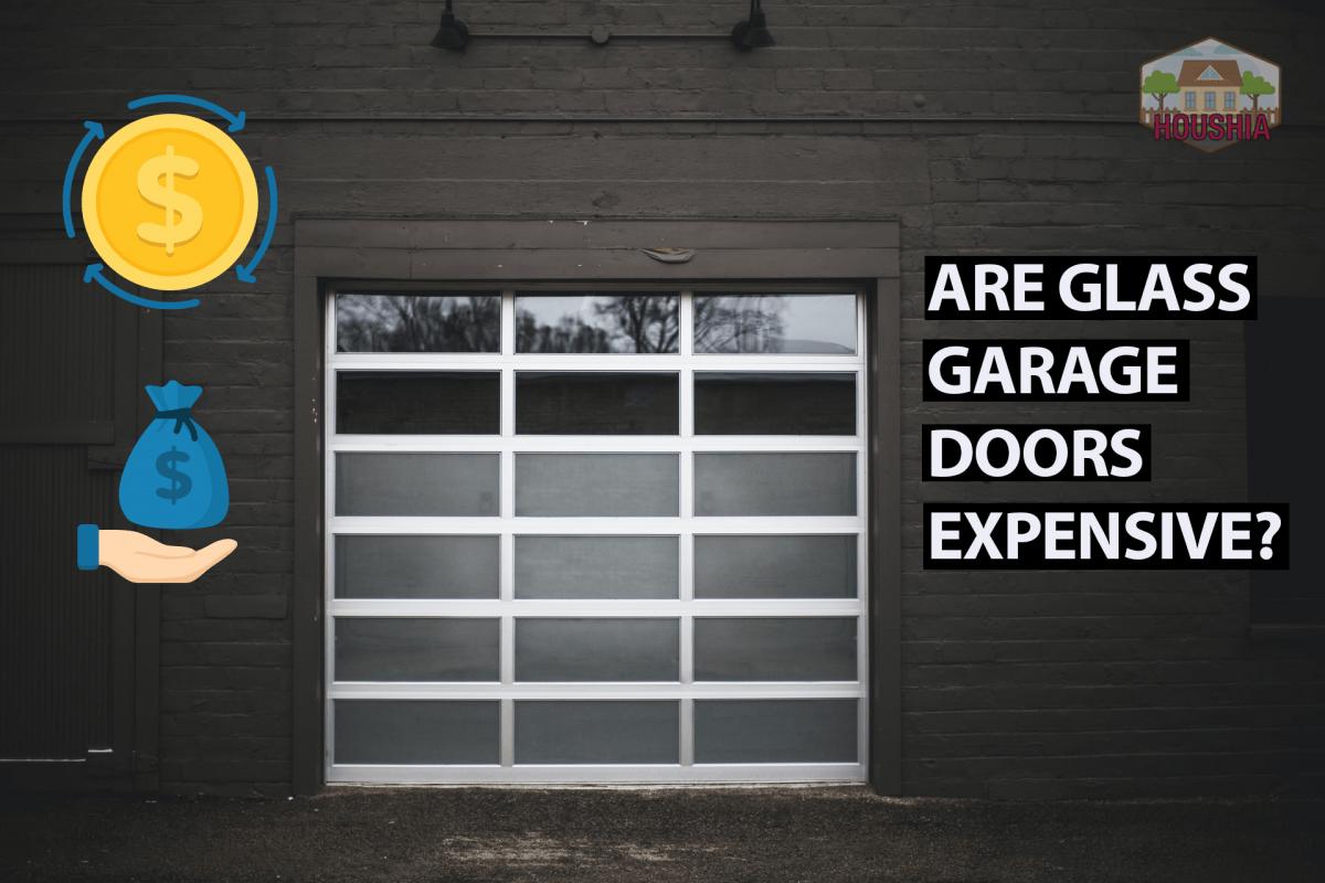 ARE GLASS GARAGE DOORS EXPENSIVE