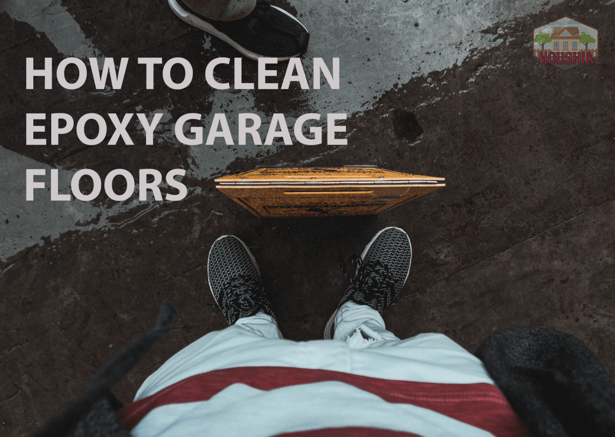 HOW TO CLEAN EPOXY GARAGE FLOORS