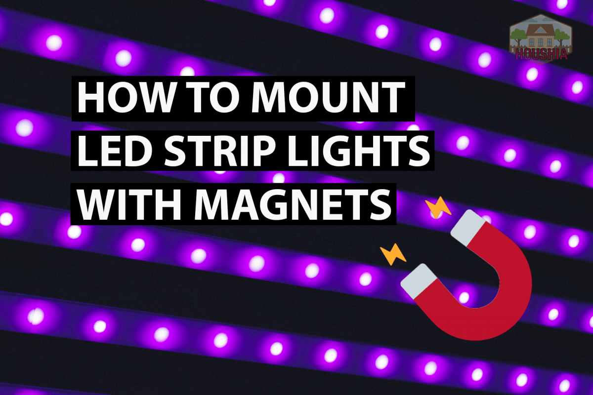 How To Mount LED Strip Lights with Magnets