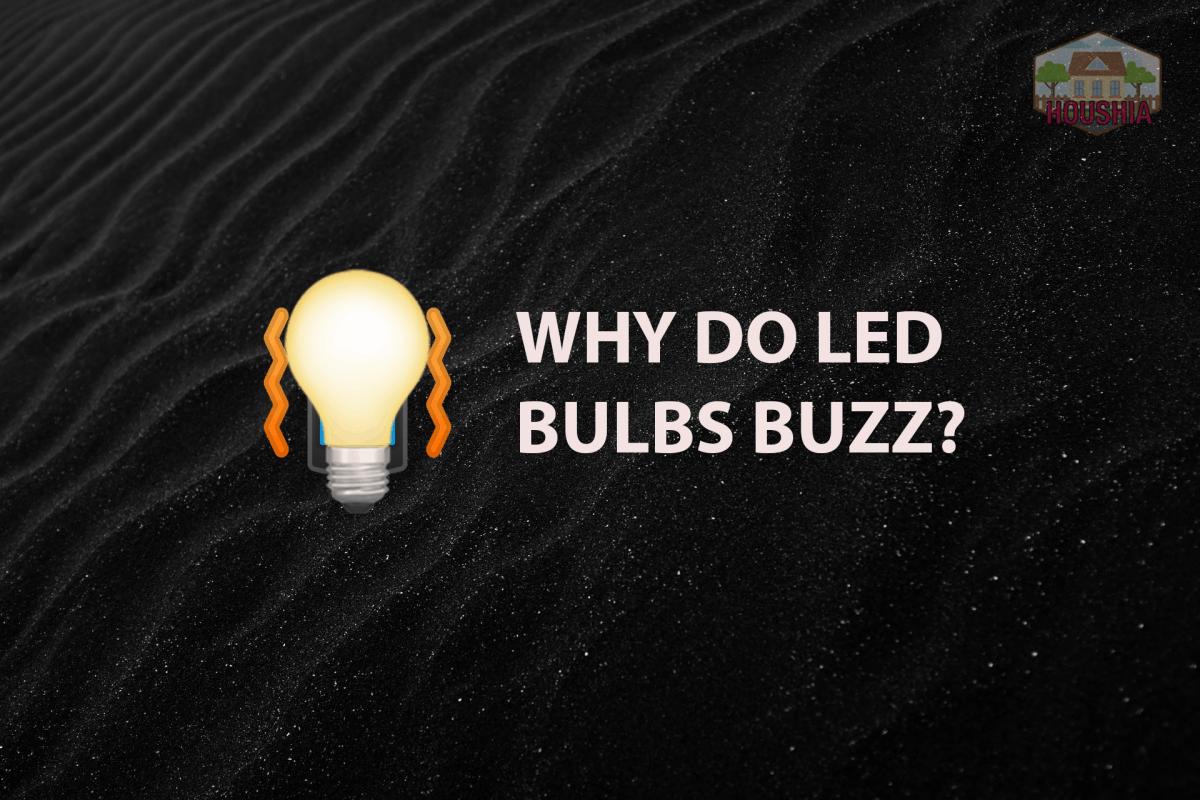 WHY DO LED BULBS BUZZ