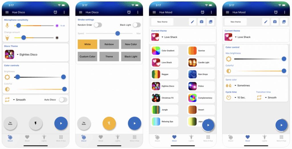 hue disco app - mood and disco modes