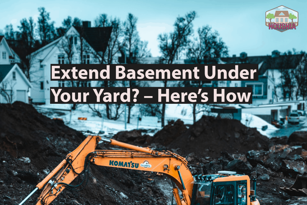 Extend Basement Under Your Yard Heres How