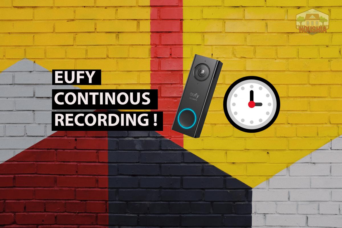 EUFY CONTINOUS RECORDING