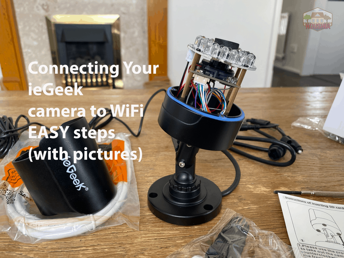 connecting your iegeek camera to wifi