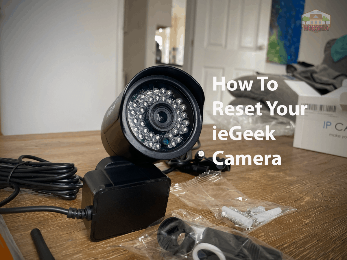 how to reset iegeek camera