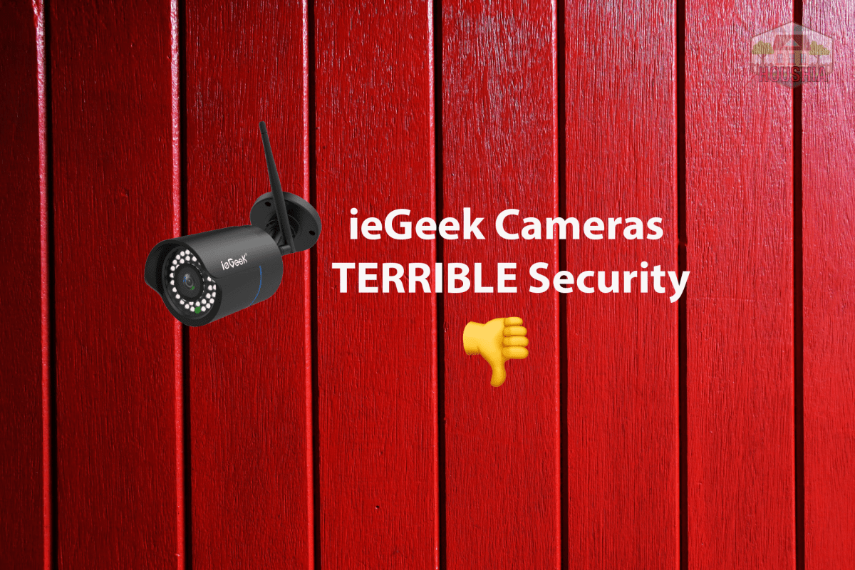 are iegeek cameras secure from hackers