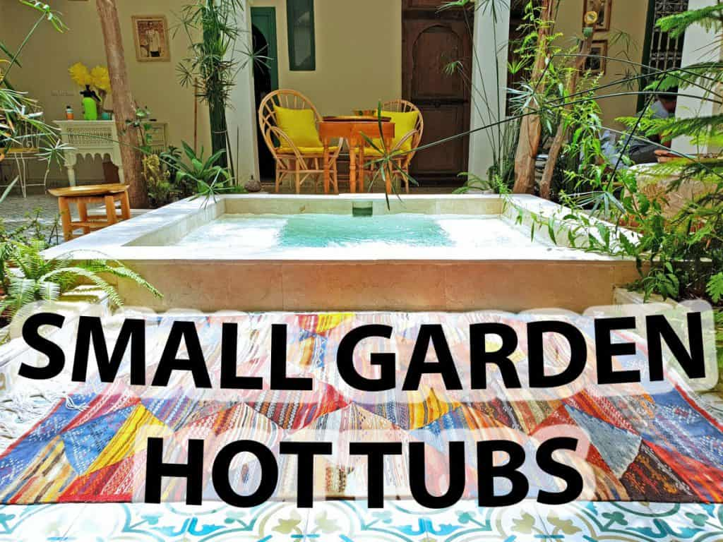Creating The Perfect Space For A Small Garden Hot Tub Houshia