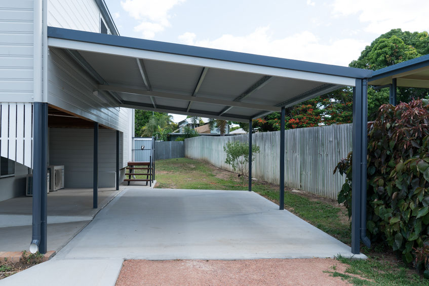 Can A Carport Be Built On A Slope Important Facts Houshia